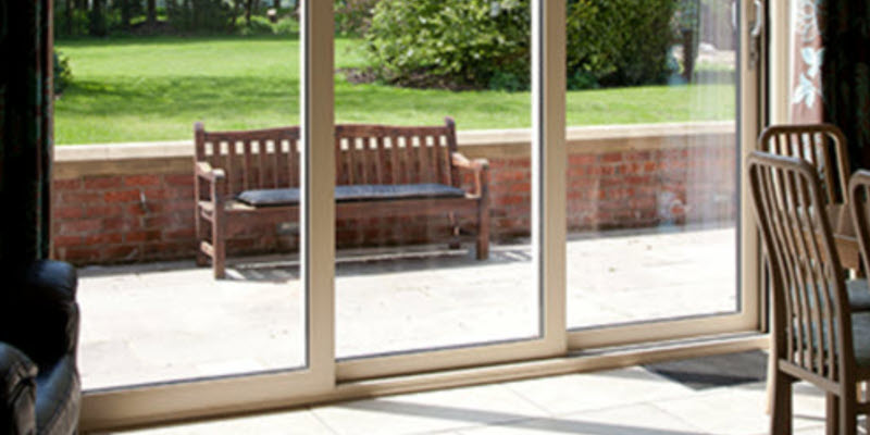 Our Sliding Patio Doors Use A Single Or Dual Track System. We Also Offer A Triple  Track Aluminium Sliding Patio Door.